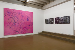 Gino Saccone Installation view Independent Brussel, 2018 'Rus in Urbe' ('Country in the City')