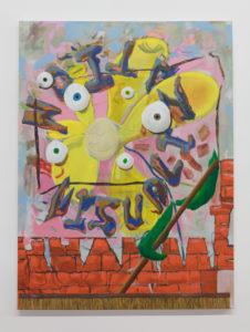 Gino Saccone Visualization Oil painting 2018, 122 x 91