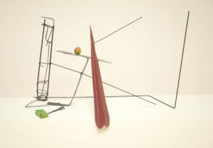 Auke de Vries zonder titel 50 x 28 x 35 cm beschilderd metaal