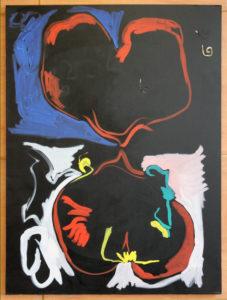 Gino Saccone Heart traeH oil painting 2018,122 x 91