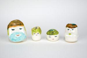 Kenichi Ogawa Fiends, 2019 ceramic