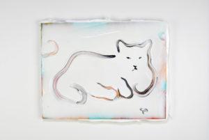 Kenichi Ogawa Untitled, 2019 (sleeper) 41 x 31,8 cm