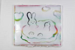Kenichi Ogawa Hot Spring, 2020  45,5 x 38 cm