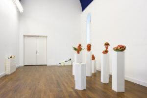 Installation view, 'Hollen' Wobbe Micha, Dorota Jurczak until 18th October 2020