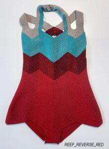 pelican avenue: fine knit body suit, REEF_REVERSE, 2020