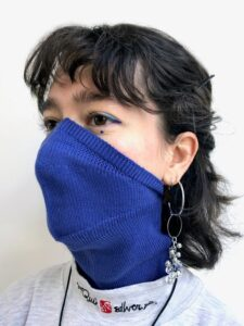 pelican avenue  Face-Mask_Scarf BLUE Available in 2 sizes: S/M (womens size) and M/L (mens size) € 40,00