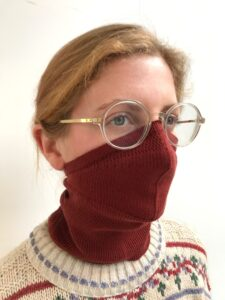 pelican avenue  Face-Mask_Scarf PORTO Available in 2 sizes: S/M (womens size) and M/L (mens size) € 40,00