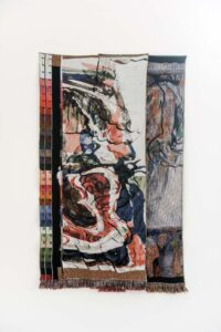 Gino Saccone Secret is in the dirth Jacquard tapestry